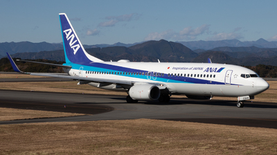 JA55AN - Boeing 737-881 - All Nippon Airways (ANA)