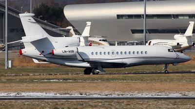 LN-AGR - Dassault Falcon 7X - Private