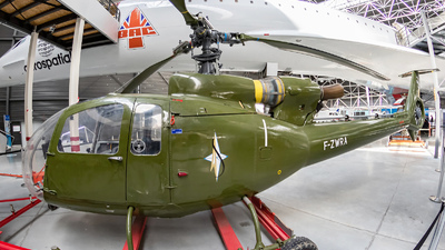 F-ZWRA - Sud Aviation H-34A - France - Army