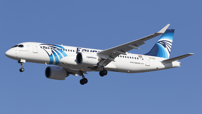 A picture of SUGFG - Airbus A220300 - EgyptAir - © AvA