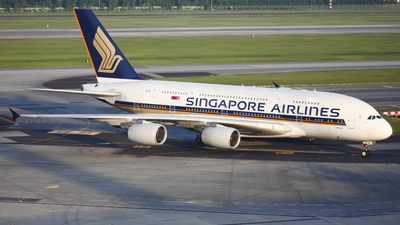 9V-SKL - Airbus A380-841 - Singapore Airlines