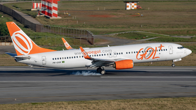A picture of PRGXB - Boeing 7378EH - GOL Linhas Aereas - © fachetti_spotter