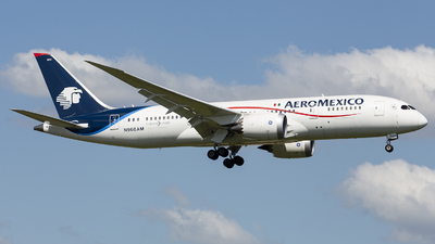 N966AM - Boeing 787-8 Dreamliner - Aeroméxico