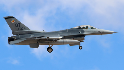 91-0374 - General Dynamics F-16C Fighting Falcon - United States - US Air Force (USAF)