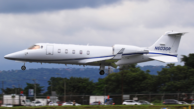 N603GR - Bombardier Learjet 60 - Private