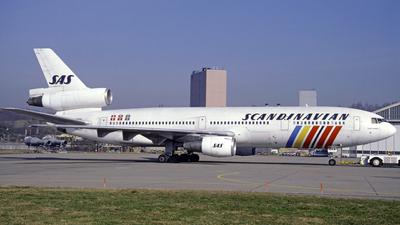 LN-RKA - McDonnell Douglas DC-10-30 - Scandinavian Airlines (SAS)