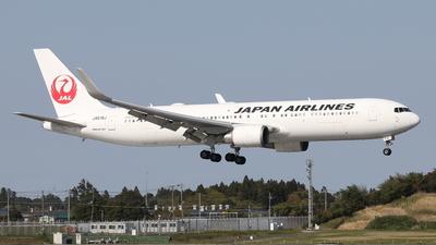 JA619J - Boeing 767-346(ER) - Japan Airlines (JAL)