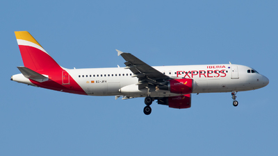 EC-JFH - Airbus A320-214 - Iberia Express