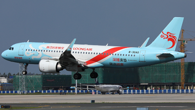B-30AQ - Airbus A320-251N - Loong Air