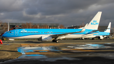 A picture of PHBXB - Boeing 7378K2 - KLM - © C. v. Grinsven