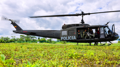 PNC-0704 - Bell UH-1H Iroquois - Colombia - Police