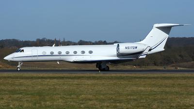 N517DW - Gulfstream G550 - Private