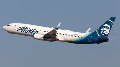 N588AS - Boeing 737-890 - Alaska Airlines