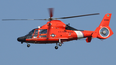 6588 - Aérospatiale HH-65C Dolphin - United States - US Coast Guard (USCG)