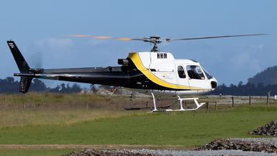 ZK-HHM - Aérospatiale AS 350B Ecureuil - Fox & Franz Heli Services