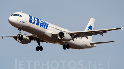 VP-BPS - Airbus A321-211 - UTair Aviation
