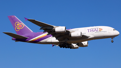 A picture of HSTUC - Airbus A380841 - Thai Airways - © Daniel Klein