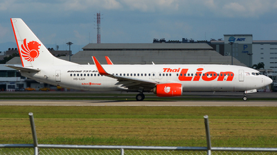 A picture of HSLUH - Boeing 7378GP - Thai Lion Air - © SOMPOL JUNLAMART