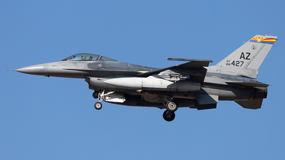 88-0427 - General Dynamics F-16CM Fighting Falcon - United States - US Air Force (USAF)