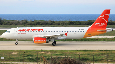 ZS-GAR - Airbus A320-231 - Sunrise Airways