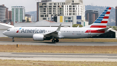 A picture of N324RA - Boeing 737 MAX 8 - American Airlines - © Pablo Alvarado