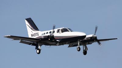 A picture of N421TG - Cessna 421C Golden Eagle - [421C0839] - © BaszB