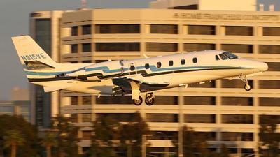 A picture of N315VE - Cessna 560XLS Citation Excel - Executive Flight Services - © Liu Chen