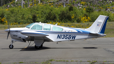 N135BW - Beechcraft F33A Bonanza - Private
