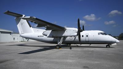 N636AR - Bombardier Dash 8-103 - EP Aviation