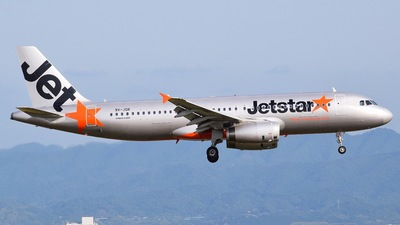 9V-JSR - Airbus A320-232 - Jetstar Asia Airways
