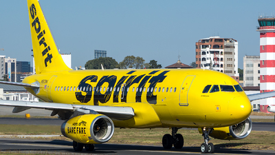 N503NK - Airbus A319-132 - Spirit Airlines