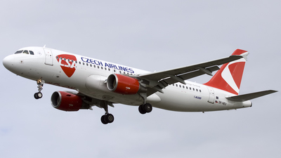 A picture of OKHEU - Airbus A320214 - Czech Airlines - © Sam Randles