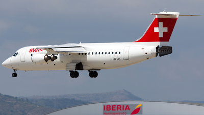 HB-IXT - British Aerospace Avro RJ100 - Swiss