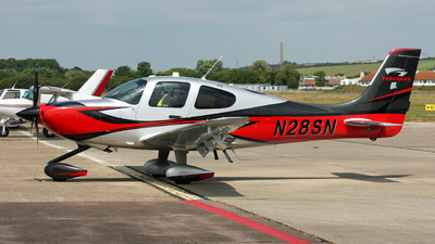 A picture of N28SN - Cirrus SR22T - [1729] - © Hawkwind