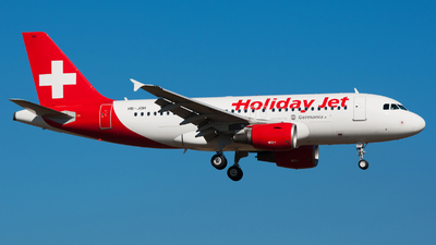 HB-JOH - Airbus A319-112 - Holiday Jet