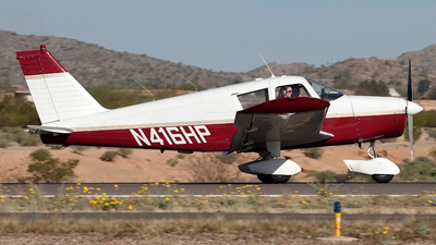 A picture of N416HP - Piper PA28180 - [281437] - © Jeremy D. Dando