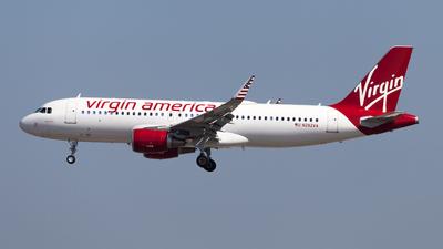 N282VA - Airbus A320-214 - Virgin America