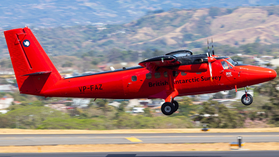 A picture of VPFAZ - De Havilland Canada DHC6300 Twin Otter -  - © Alonso Cisneros