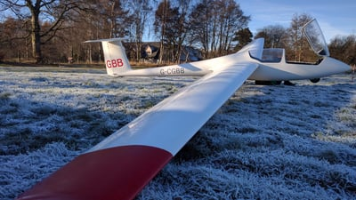 G-CGBB - Schleicher ASK-21 - Edinburgh University Gliding Club