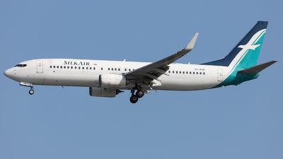 A picture of 9VMGE - Boeing 7378SA - SilkAir - © Jeremy Takigawa