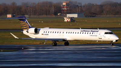 D-ACNX - Bombardier CRJ-900 - Lufthansa Regional (CityLine)