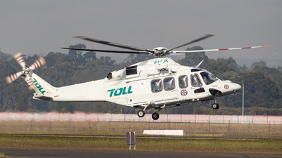 VH-TJK - Agusta-Westland AW-139 - Toll Helicopters NSW Pty Ltd