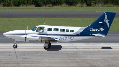 A picture of N401TJ - Cessna 402C - [402C0109] - © Hector Rivera - Puerto Rico Spotter