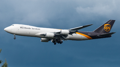 N613UP - Boeing 747-84AF - United Parcel Service (UPS)
