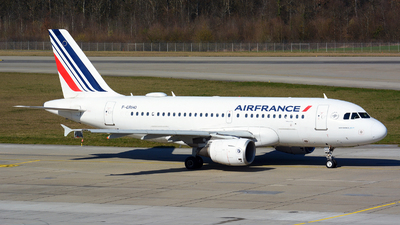 A picture of FGRHO - Airbus A319111 - Air France - © Jeremy Denton