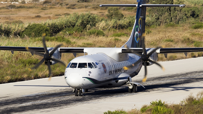 A picture of SXOAX - ATR 42600 - Olympic Air - © Mattia De Bon