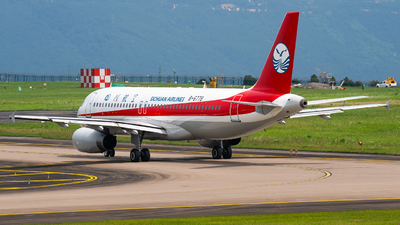 A picture of B6778 - Airbus A320232 - Sichuan Airlines - © ZUCKGYQ