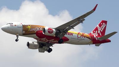 A picture of 9MAJA - Airbus A320216 - AirAsia - © Panji Anggoro