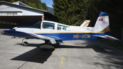 HB-UCM - Grumman American AA-5B Tiger - Motorfluggruppe Pilatus