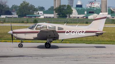 C-GYGZ - Piper PA-28-161 Warrior II - St Catharines Flying Club